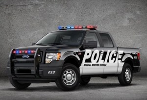 F-150 Special Service Vehicle for Police